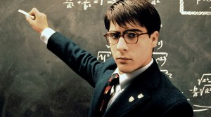 Jason Schartzman in Rushmore (1998) being a hipster before it was mainstream.
